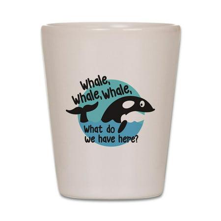 CafePress - Whale Whale Whale - White Shot Glass, Unique and Funny Shot Glass](Funny Shot Glasses)