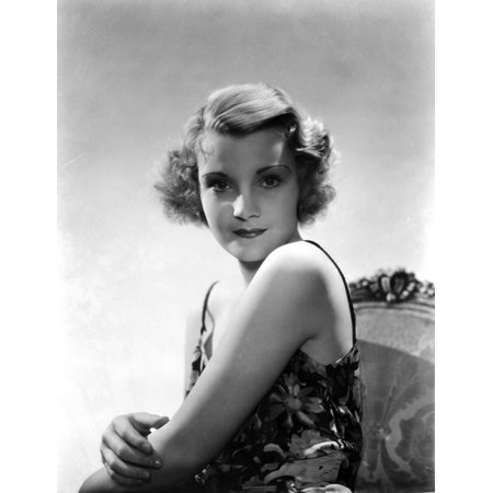 - Helen Chandler sitting and wearing a Sleeveless Dress Photo Print