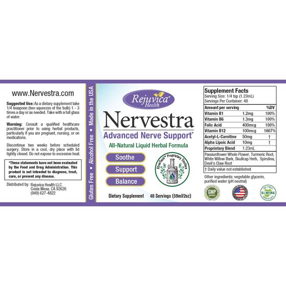098bdd8cbd1a Nervestra - Neuropathy   Nerve Pain Support Supplement - Walmart.com