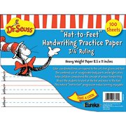 100 Sheets of Dr. Seuss Handwriting Practice Paper