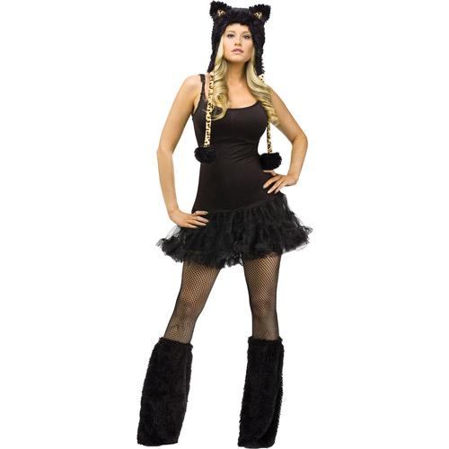 Leopard Animal Hoodie Set Adult Halloween Accessory