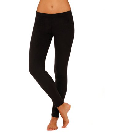 Womens Stretch Fleece Warm Underwear Leggings