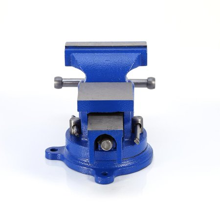 Workshop Bench Vise - Yosoo 360° Jaw Bench Vice Durable 360° Bench Vice Workshop Clamp Engineers 110mm Heavy Duty Bench Vise