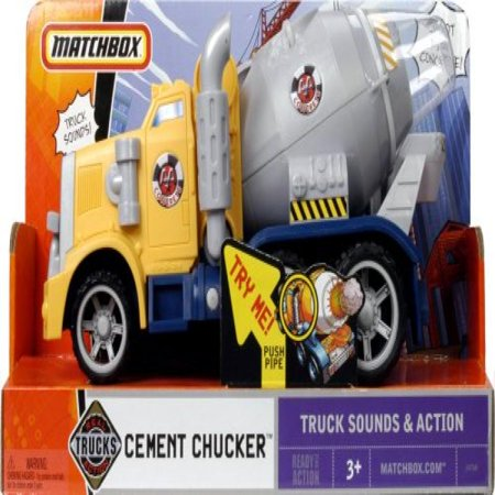 Matchbox Real Action Trucks Front -