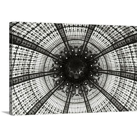 Great BIG Canvas Erin Berzel Premium Thick-Wrap Canvas entitled Galeries Lafayette III (Lafayette Wrap)