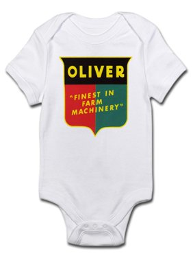 a157f01c8599 Product Image CafePress - Oliver Tractor Infant Bodysuit - Baby Light  Bodysuit