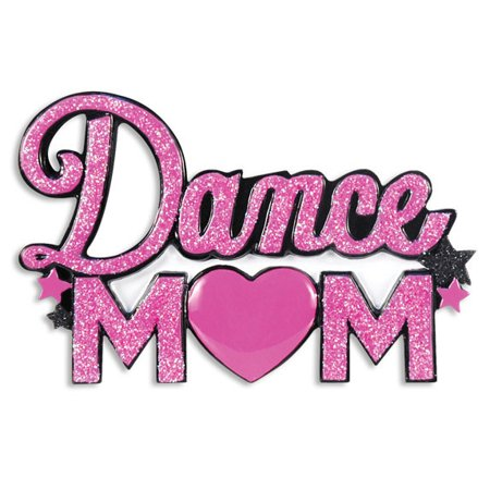Dance Mom Personalized Christmas Ornament DO-IT-YOURSELF