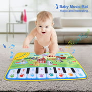 Baby Music Mat Children Crawling Piano Carpet Educational Musical Toy Kids Gift Baby Music Carpet Baby Music Mat