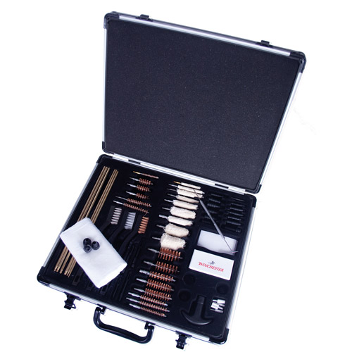 Winchester Super Deluxe Cleaning Kit in Aluminum Carry Case, 62pc