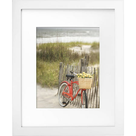 Mainstays Museum 16 X 20 Matted To 11 X 14 Picture Frame White
