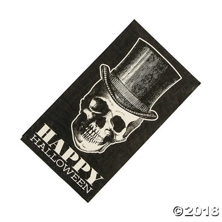 Vintage Halloween Dinner Napkins(pack of 2) for $<!---->
