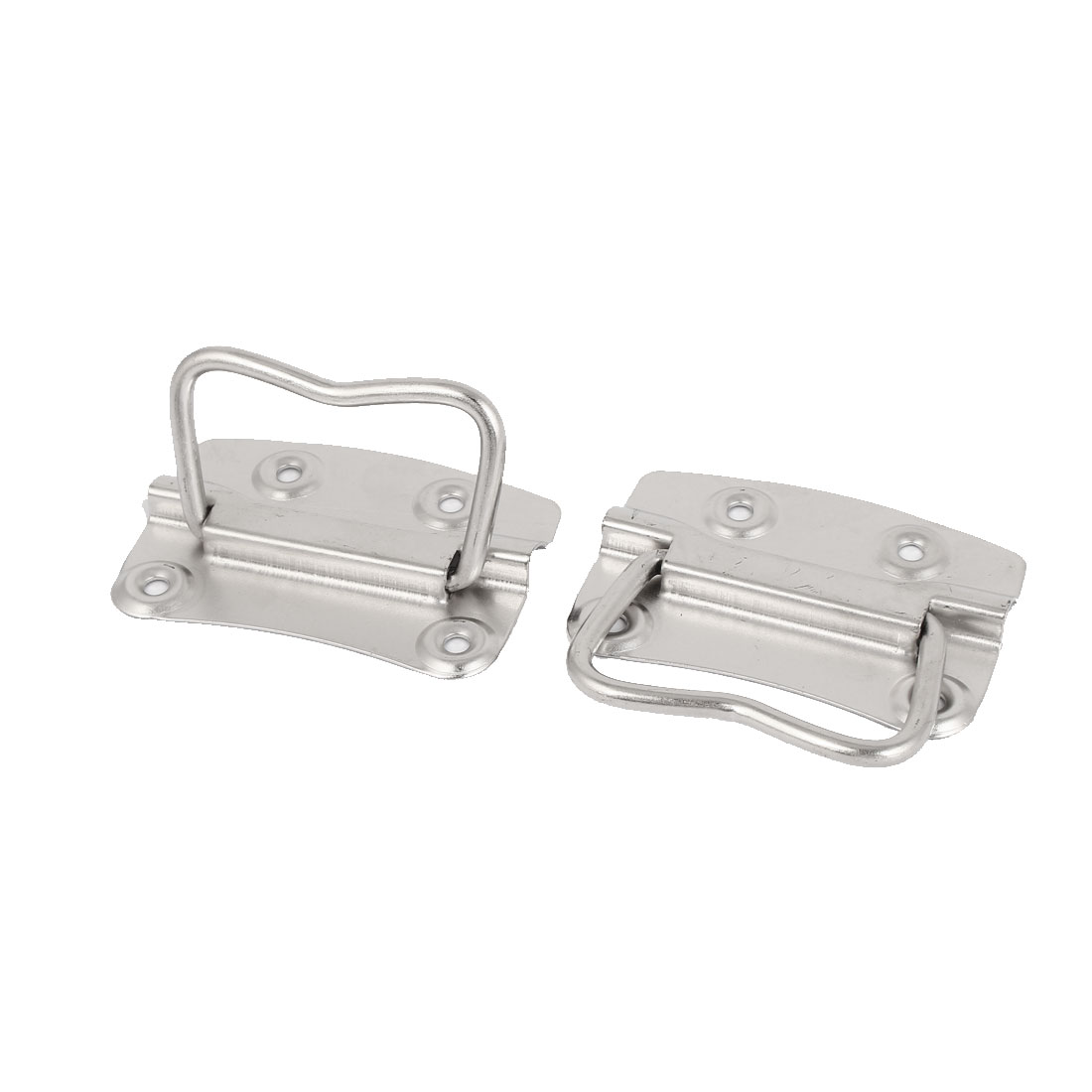 "Metal Toolbox Crates Boxes Puller Chest Handle Silver Tone 4"" Length 4pcs - image 1 of 2"