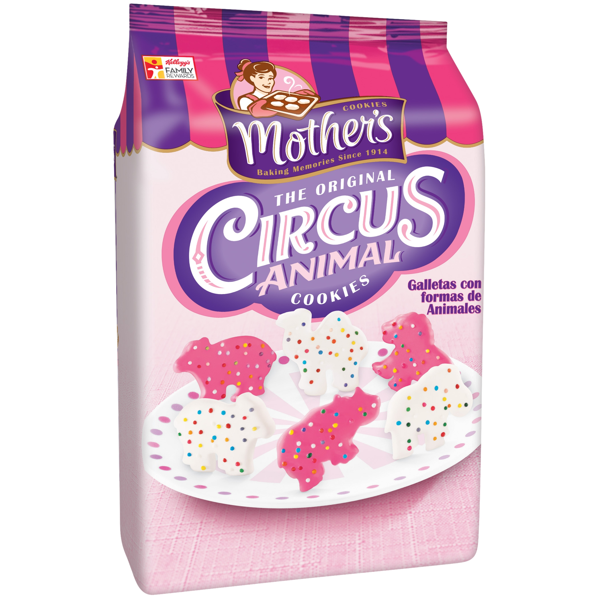Mother's Circus Animal Cookies Bag (pack