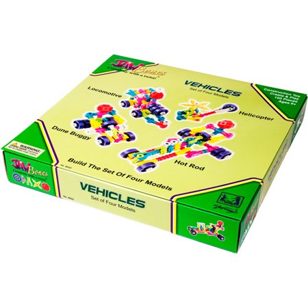 Jawbones Vehicles Boxed Set, 150 Pieces
