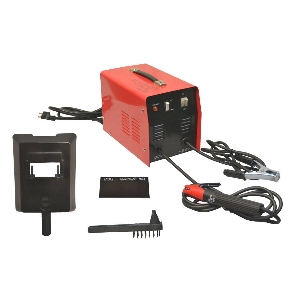 Click here to buy 60-70 AMP MMA Arc Welder Electric Welding No Gas Cooling Fan.