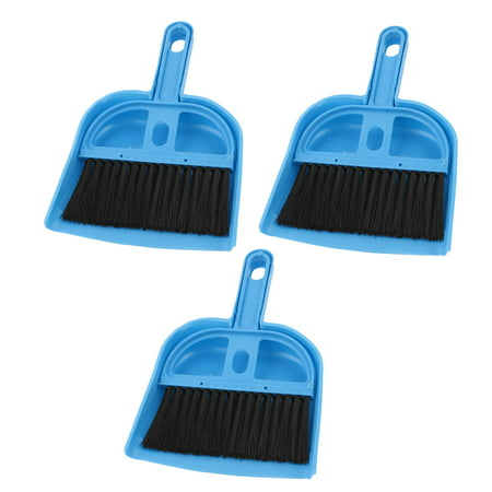 3 pcs portable pc desk computer keyboard duster cleaning cleaner brush blue. Black Bedroom Furniture Sets. Home Design Ideas