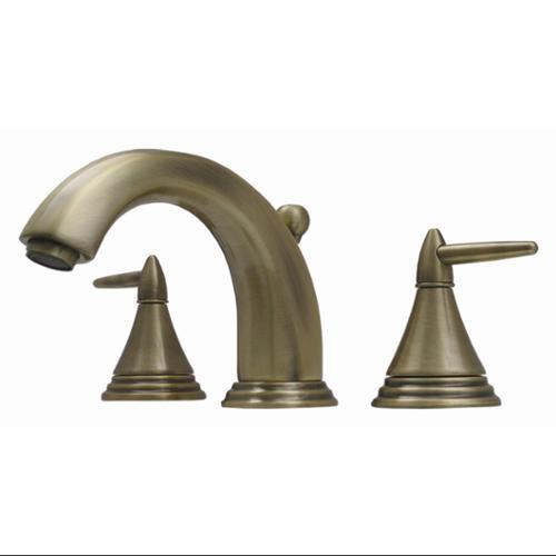 Whitehaus Collection Alfi Trade 514. 111WS-ACO 6 inch Blairhaus Jackson widespread lavatory faucet- Antique Copper
