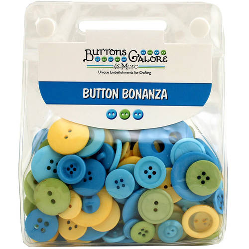 Button Bonanza .5lb Assorted Buttons