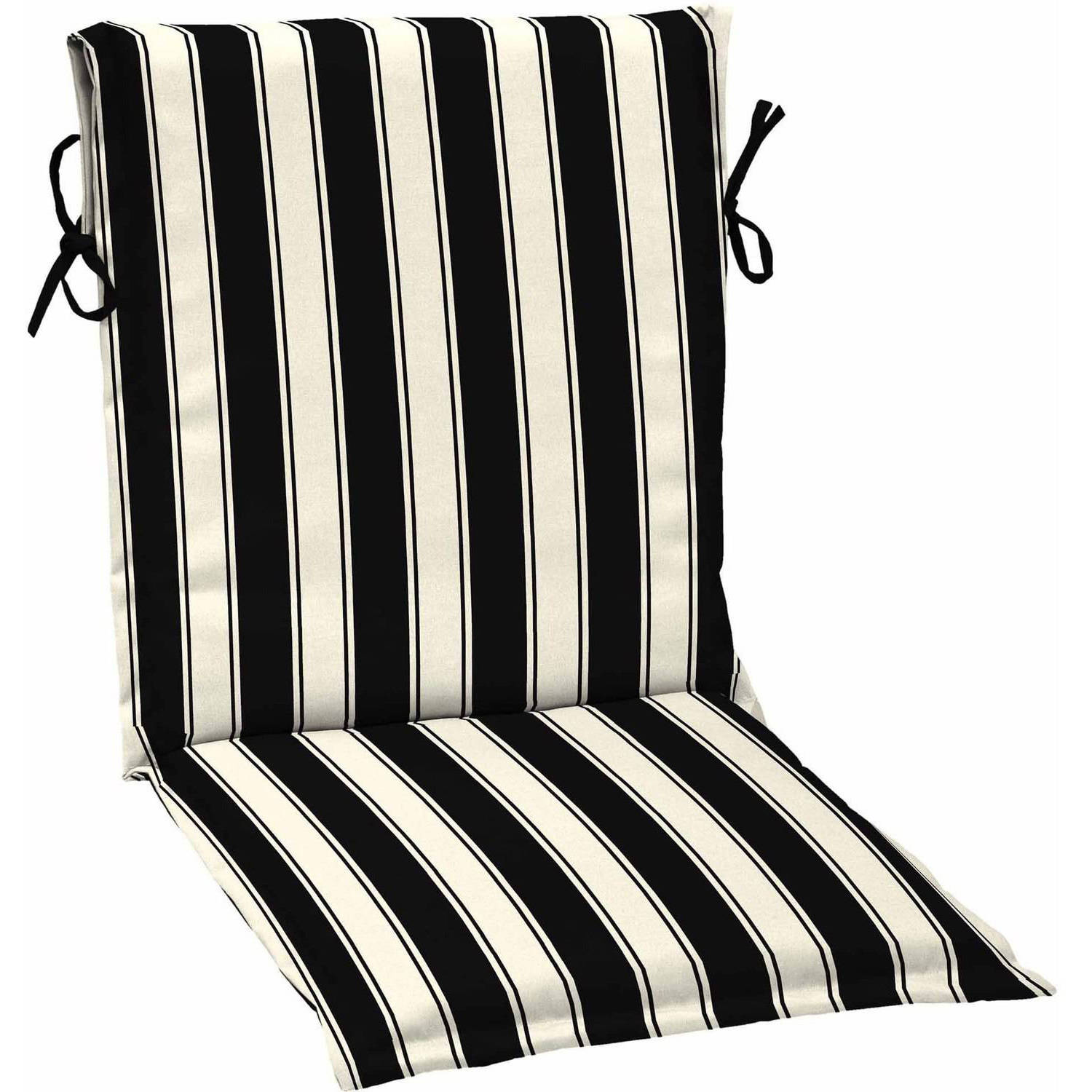 Charmant Better Homes And Gardens Outdoor Patio Sling Chair Cushion, Black White  Stripe