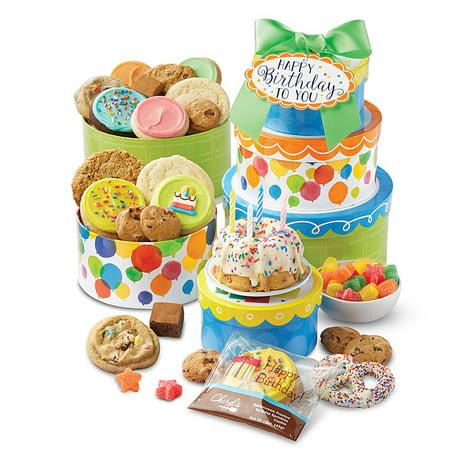 Cheryl's Cookies Birthday Cake and Candy Cookie - Cheryl's Cookies Halloween Tin