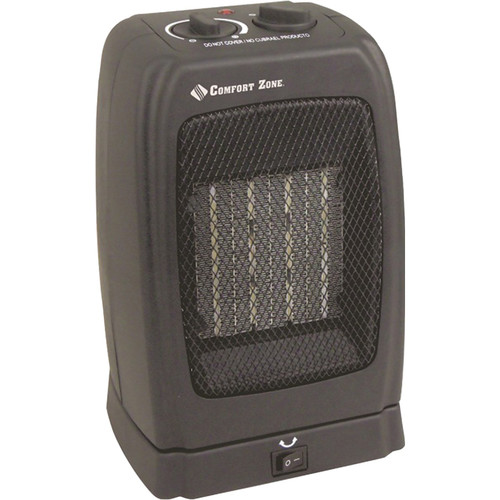 Comfort Zone Oscillating Compact Ceramic Heater by Generic