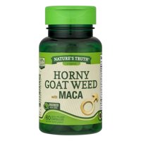 Nature's Truth Horny Goat Weed with MACA, 60.0 CT
