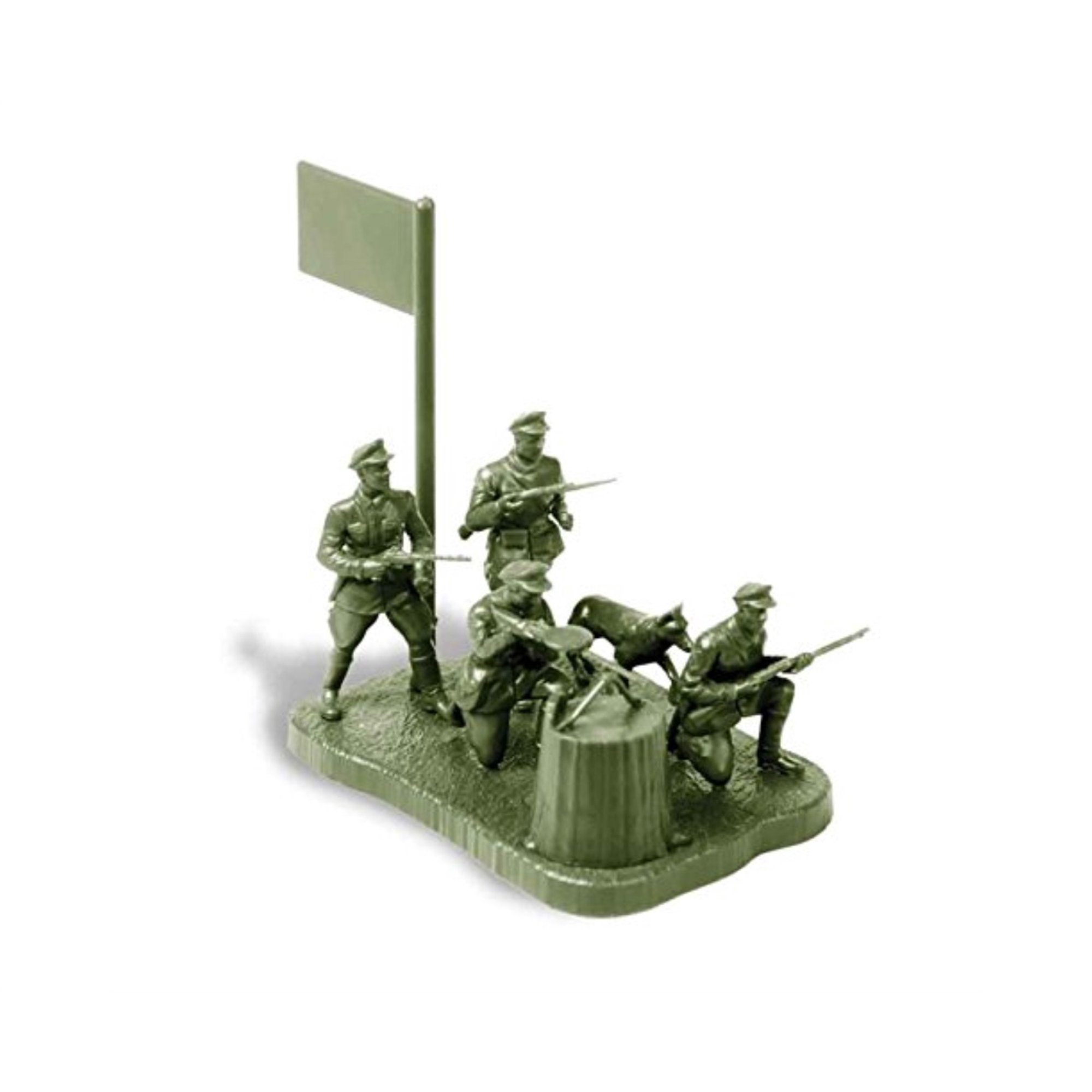 Zvezda Models Soviet Frontier Guards Model Kit (1/72 Scale)