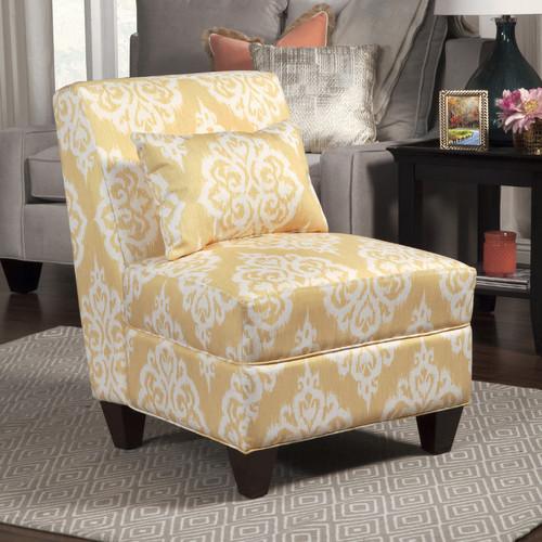 HomePop Large Slipper Chair