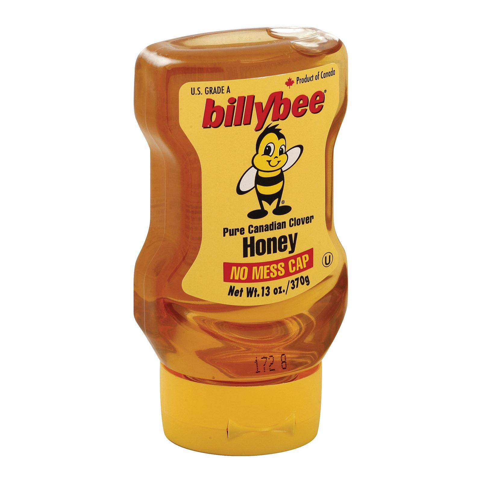 Billy Bee Honey - Pure Canadian Clover - Pack of 6 - 13 Oz.
