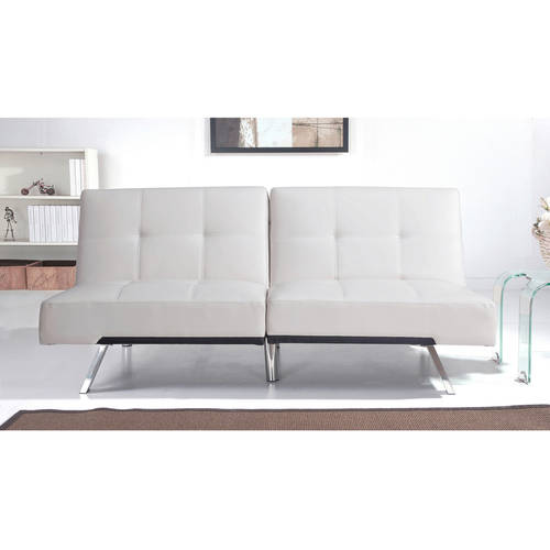 Devon & Claire Austin Leather Futon Sofa Bed, Multiple Colors