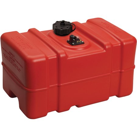 Scepter Rectangular Portable Fuel Tank (Go Kart Fuel Tank)