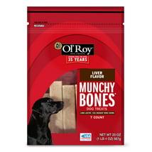 Dog Treats: Ol'Roy Munchy Bones