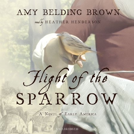 Flight of the Sparrow by Amy Belding Brown Unabridged 2014 CD ISBN- 9781483018072 Amy Brown Bubble Rider