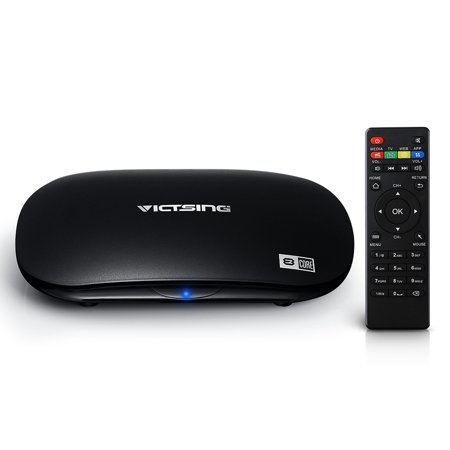 TV Box, Android 5.1, Smart Multimedia Player, Support WiFi /Airplay/ DLNA & Gigabit Network & OTA, for Home Entertainment