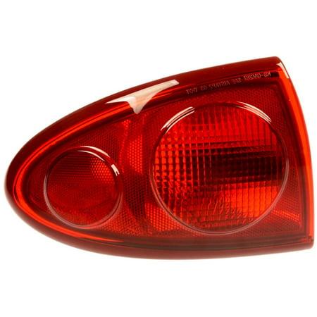 Chevrolet Light Lens - Dorman 1610952 Tail Light For Chevrolet Cavalier, Red Lens