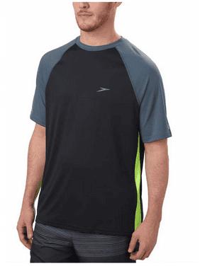 00ab0a02726dd0 Product Image Speedo Men s UPF 50 Short Sleeve Rashguard Swim Tee