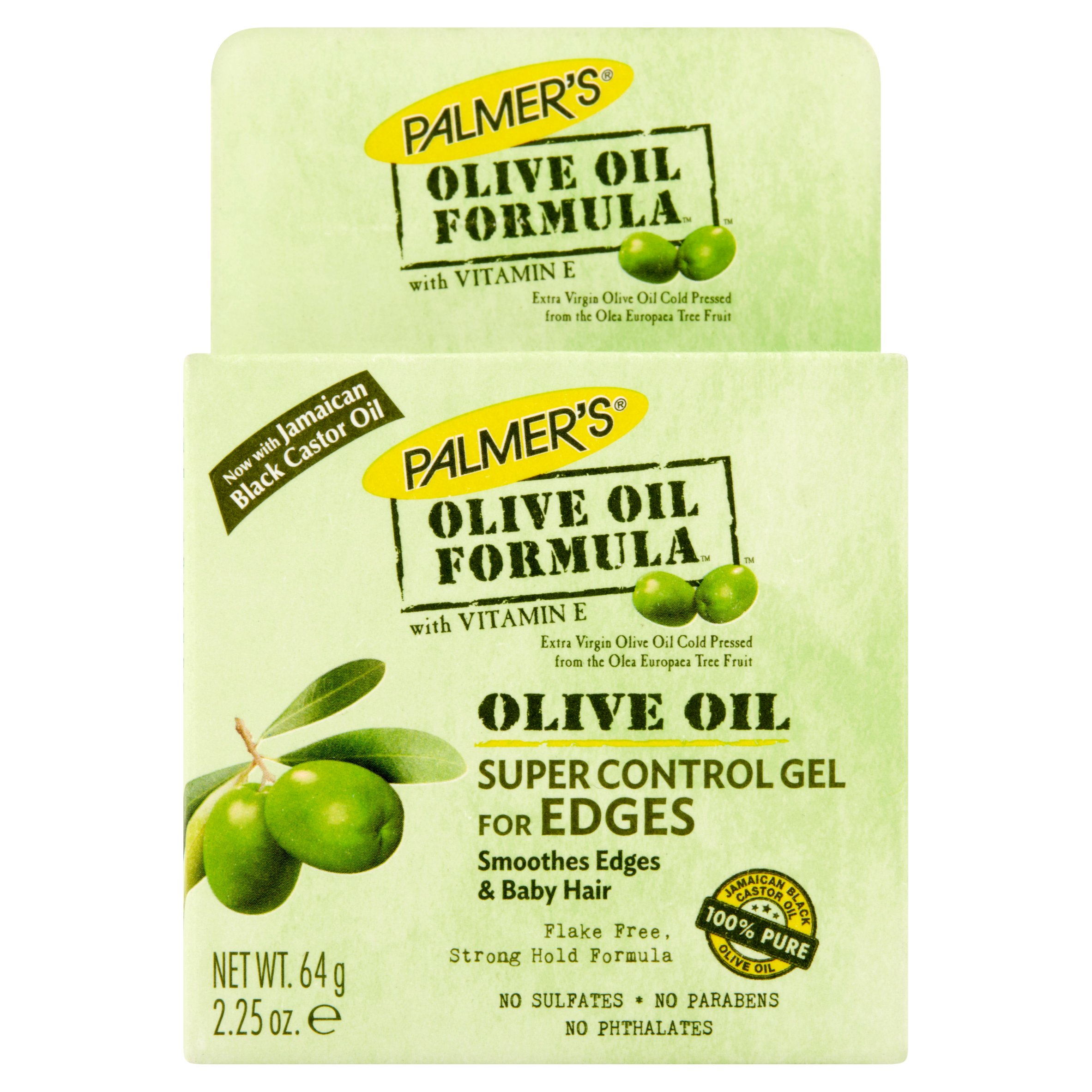 Palmer's Olive Oil Formula Super Control Edge Hold Hair Gel with Vitamin E, 2.25oz