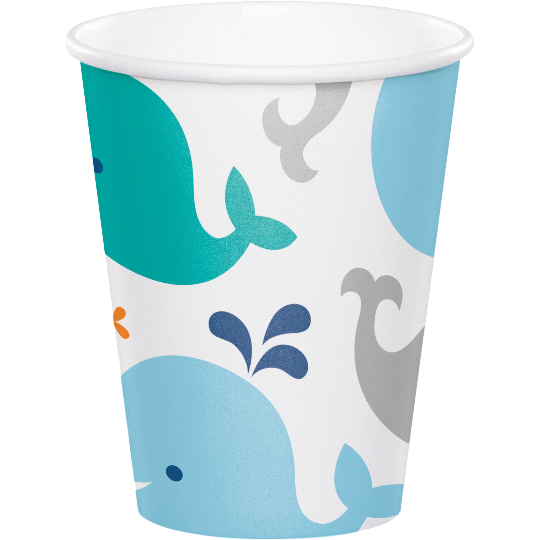 Lil' Spout Blue 9 Oz Paper Cup/Case of 96
