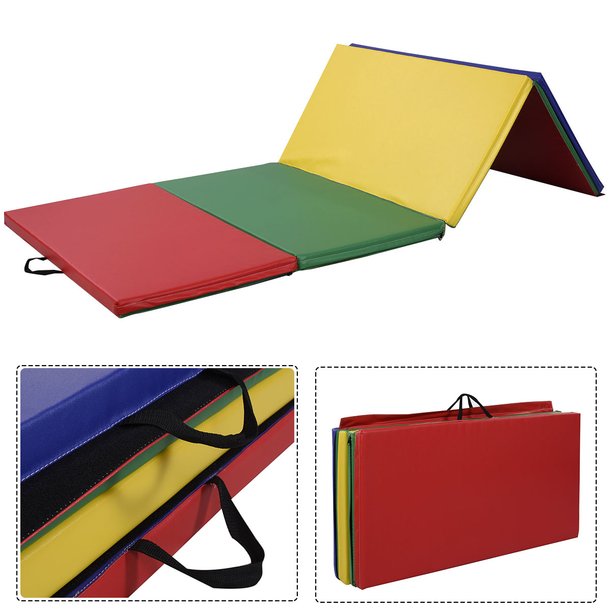 tumbling inflatable air for gymnastics mat floor home gym track itm
