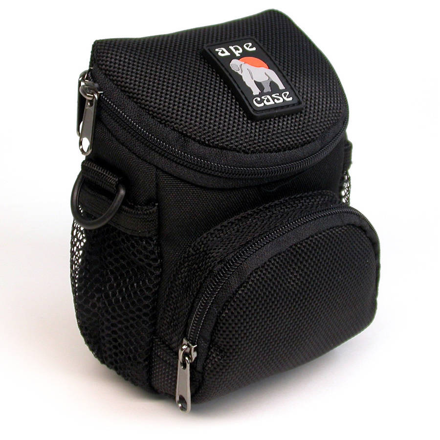 Ape Case AC160 Deluxe Mini Digital Camera Case with 8 Pockets
