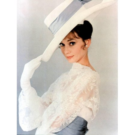 My Fair Lady, Audrey Hepburn 1964 Fashion Celebrity 1960s Photo Print Wall Art