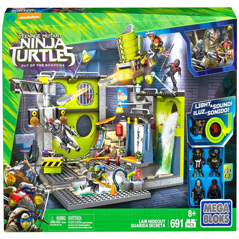 Mega Bloks Teenage Mutant Ninja Turtles: Out of the Shadows Lair Hideout by Mega Brands, Inc.
