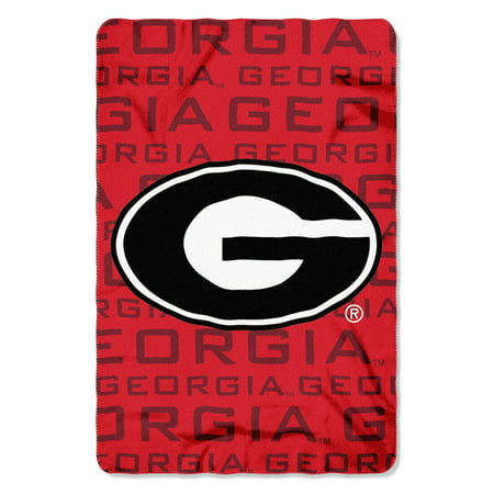 "- NCAA - Georgia Bulldogs , ""Shadow"" 40""x 60"" Fleece Throw"