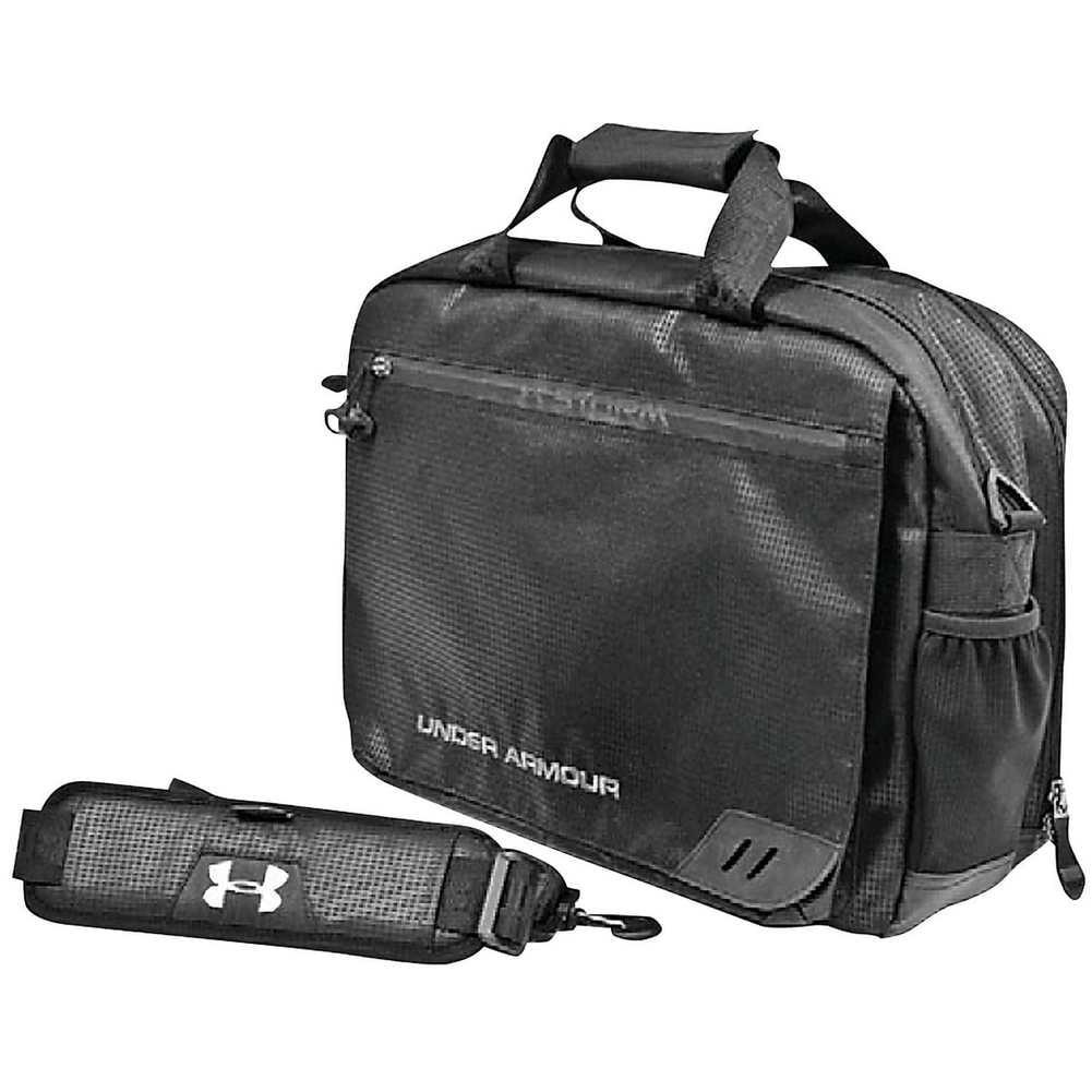 Under Armour Large Laptop Coach's Briefcase, Black UASB-CB2