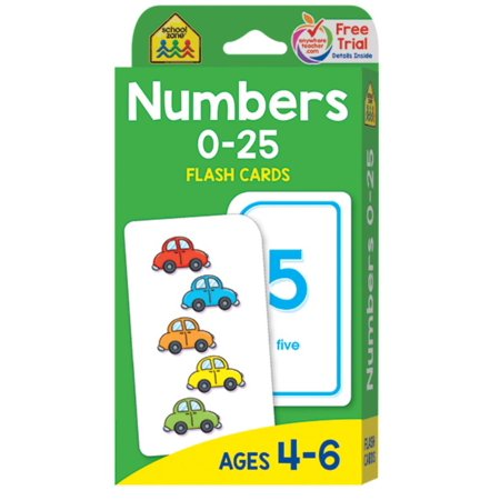 NUMBERS 0-25 FLASH CARDS - Quick Flash Cards