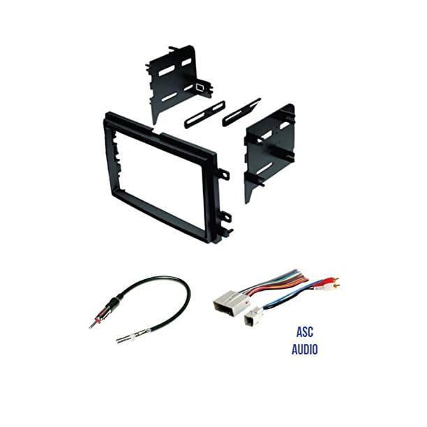 ASC Audio Car Stereo Radio Install Dash Kit, Wire Harness, and Antenna  Adapter to Install a Double Din Radio for some Ford Lincoln Mercury  Vehicles - Walmart.com - Walmart.com | Ford Stereo Wiring Harness Kits |  | Walmart