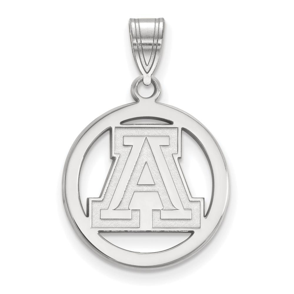 Arizona Small (1/2 Inch) Pendant in Circle (Sterling Silver)