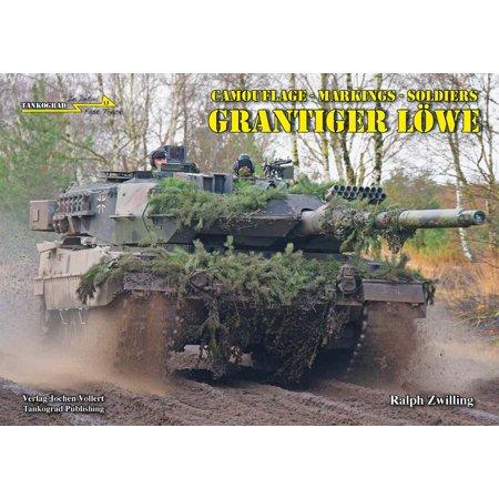 Tankograd In Detail Fast Track  13   Grantiger Lowe German Camouflage  Tkgft013