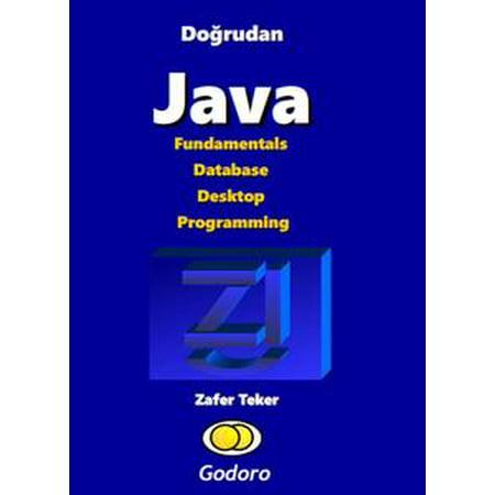 Doğrudan Java Fundamentals Database Desktop Programming -