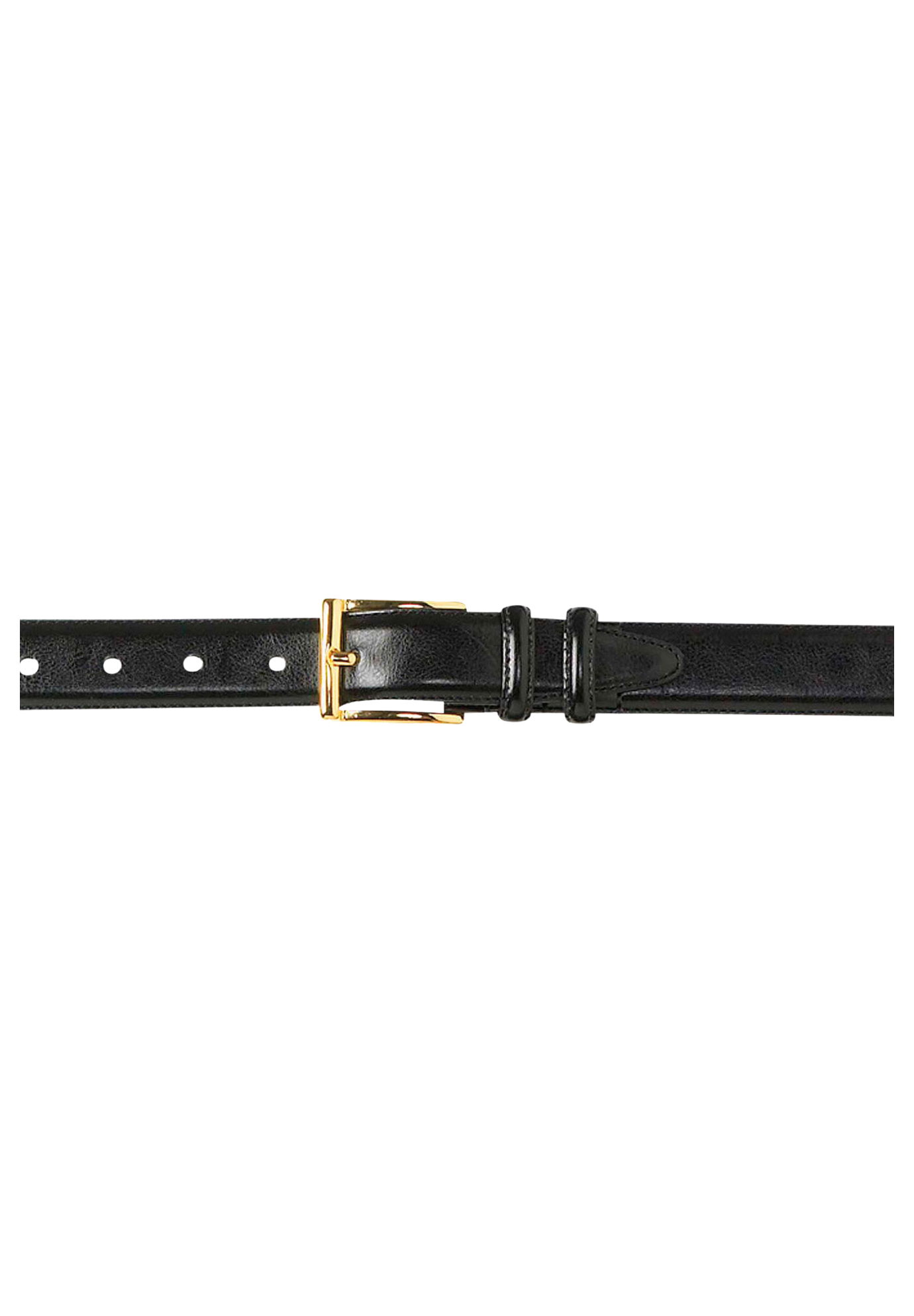 SHA classic Stitch edge mens pin Buckle belts men leather belts